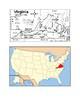 Virginia Map Scavenger Hunt