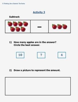 Virginia Math Kindergarten Station Activities - SOL K.6