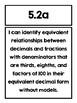 Virginia Math SOL Grade 5 Focus Posters