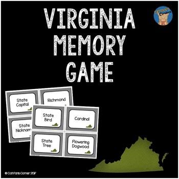 Virginia Memory Game