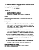 Virginia Plan on the Articles of Confederation: Guided Highlighting