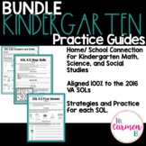 Virginia Practice Guide Bundle for Kindergarten