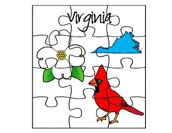 Virginia Puzzle Set