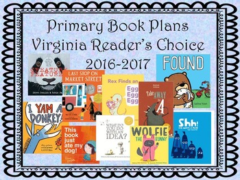 Virginia Readers Choice 2016-2017 Primary and Elementary