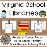 Virginia Readers' Choice Book Award 2019 - 2020  Book Review Activity Pack