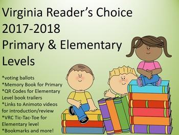 Virginia Readers Choice Packet 2017-2018