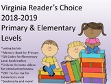 Virginia Readers Choice Packet:  Primary and Elementary Levels for 2018-2019