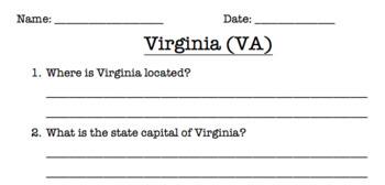 Virginia Reading Comprehension