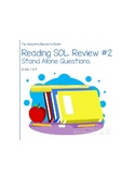 FREEBIE Virginia Reading SOL Review 2