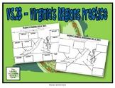 Virginia Regions Map Cut N' Sort