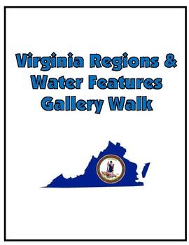 Virginia Regions and Water Features Gallery Walk Activity - Virginia Studies