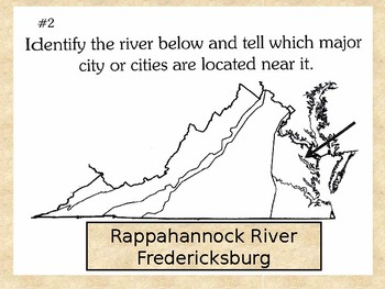 Virginia Regions and Water Features Review PowerPoint presentation- VA Studies