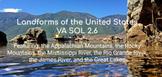Virginia SOL 2.6 Geography Slides
