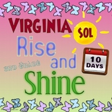 Virginia SOL 3rd Grade Test Prep 10-Day Packet for Review; 3rd Grade Common Core