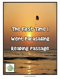 Virginia SOL Fiction Reading Practice - The First Time I Went Parasailing