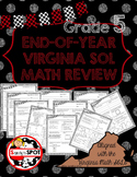 Virginia SOL Grade 5 Math End-of-Year Review