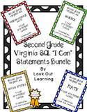 "Virginia SOL ""I Can"" Statement Cards-Second Grade Bundle"