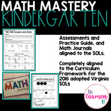 Virginia SOL Mastery for Kindergarten Math