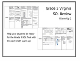 Virginia SOL Math Warm Up #2