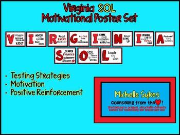 Virginia SOL Motivational Poster Set