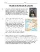 Virginia SOL Non-Fiction Reading Practice - The Life of the Marquis de Lafayette
