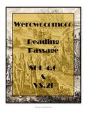 Virginia SOL Non-Fiction Reading Practice - Werowocomoco