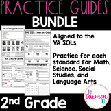 Virginia SOL Practice Guide Bundle for 2nd Grade