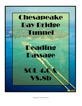 Virginia SOL Non-Fiction Reading Practice - The Chesapeake