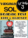 Virginia SOL Reading Test Preparation and Practice Set