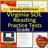 Virginia SOL Reading Test Preparation and Practice Tests - Grade 7