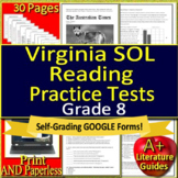 Virginia SOL Reading Test Preparation and Practice Tests - Grade 8