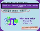 Virginia SOL Review TEIs Math Grade 8 (2009 SOLs)