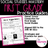 Virginia SOL Social Studies Practice Guides for First Grade