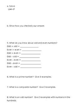 Virginia SOL Unit 3 Study Guide Grade 5