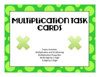 Virginia SOLMultiplication Task Cards