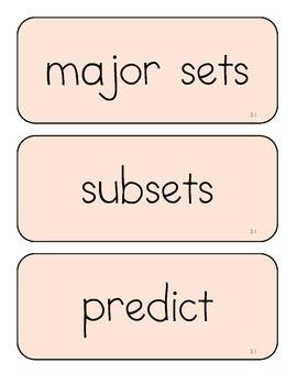 Virginia Science Vocabulary Cards Grade 3