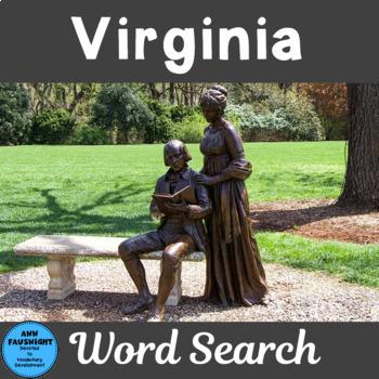 Virginia Word Search
