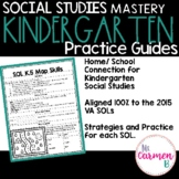 Virginia Social Studies Practice Guides for Kindergarten