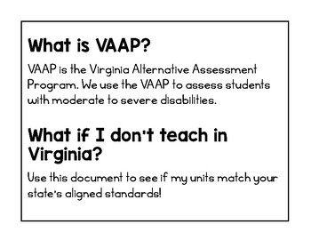 Virginia Standards Correlation Guide