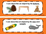 Virginia Standards of Learning Kindergarten Science I Can Statements