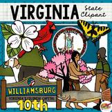 Virginia State Clip Art