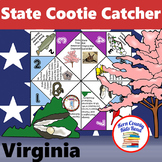 Virginia State Facts and Symbols Cootie Catcher Distance L