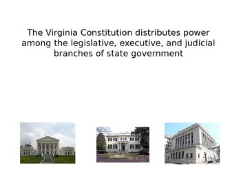 Virginia State Government PPT (CE.7a)
