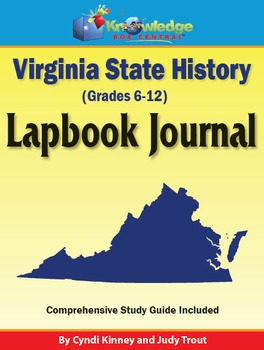 Virginia State History Lapbook Journal