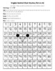 Virginia State Symbols Hundred Chart Mystery Pictures with Number Cards