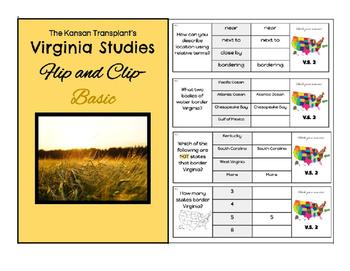 Virginia Studies 2 Flip and Clip- Basic