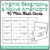 Virginia Studies 2: Geography and Native Americans Study Cards