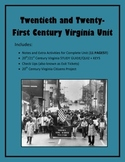 Virginia Studies 20th/21st Century Virginia Unit (VS.9 a-d/VS.10c)