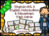 Virginia Studies 3: First Permanent Settlement, Jamestown Task Cards
