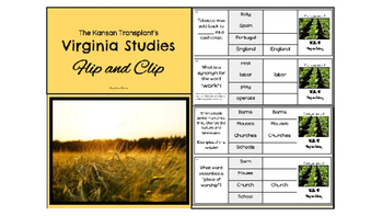 Virginia Studies 4 Flip and Clip - Full Version